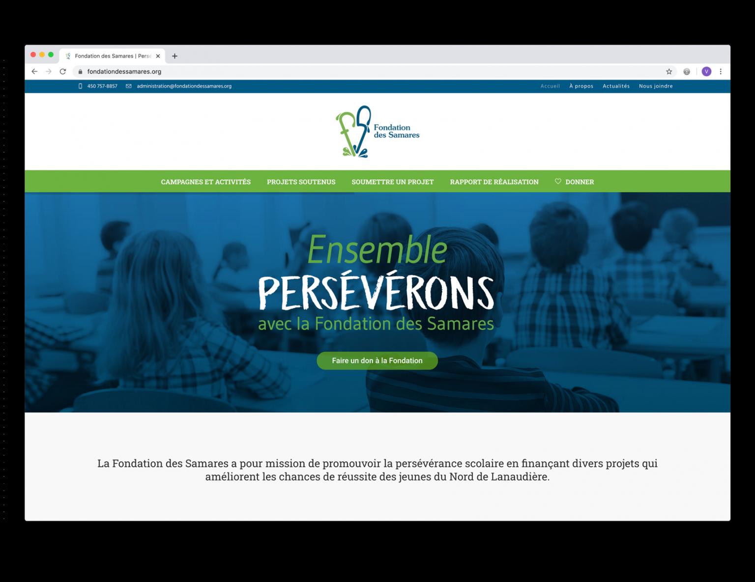 DezWeb_Realisations_FondationDesSamarres