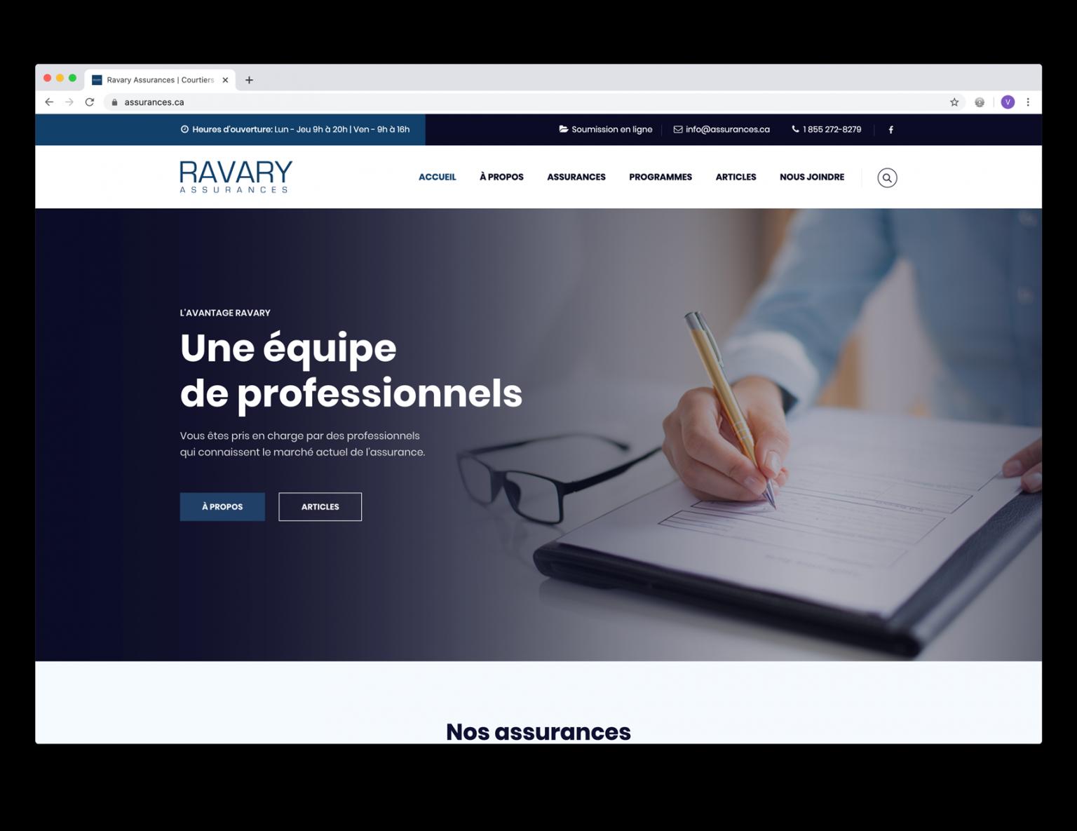 DezWeb_Realisations_RavaryAssurances